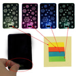 Door Bell Creative Light-emitting Snowflakes (Great For Hard Of Hearing)