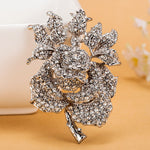 Women Rose Flower brooch Accessories