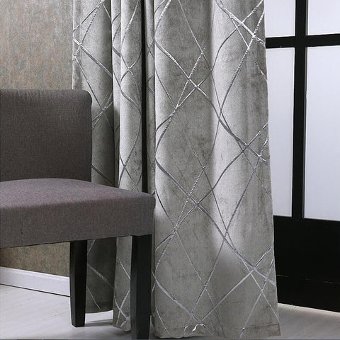Jacquard Fabric Curtains American Style