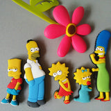 Homer Simpson Cartoon Fridge Magnet
