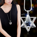 Delicate David Star Pendants Necklaces