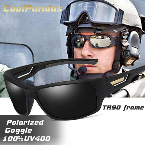 Windproof Mirrored Polarized Travel Sunglasses Anti-UV