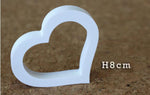 Free Standing Artificial Wooden White Letters