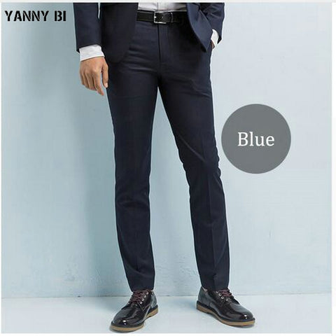 Men's Dress Slacks Flat Front