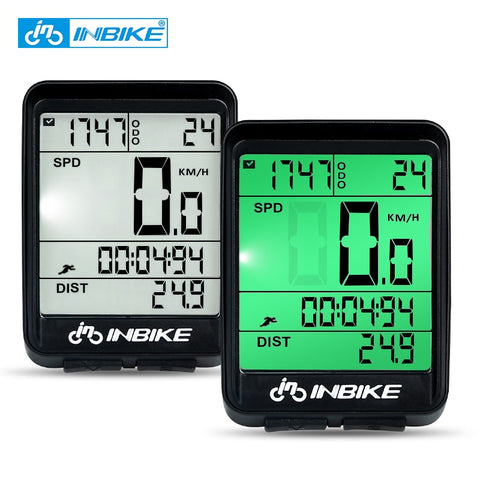 Waterproof Bicycle Computer Wireless And Wired Odometer Stopwatch Speedometer