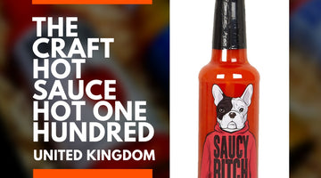 SaucyBitch Hot Stuff makes it onto the #BBHOT100 - A list of 100 hot sauces to try