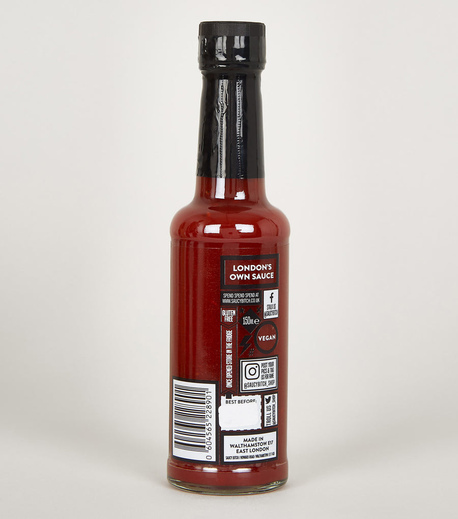 SaucyBitch Limited Edition Pomegranate Hot Sauce