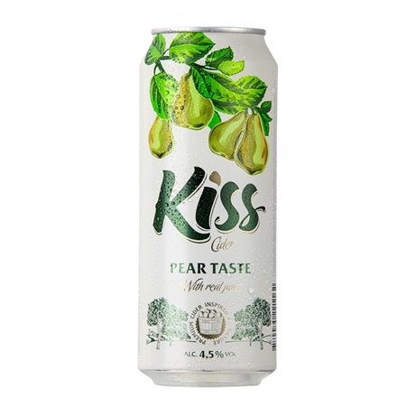 Kiss Cider, Pear Taste, 500ml can