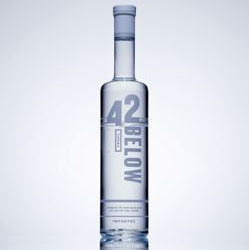 42 Below Vodka, 700ml - Pure