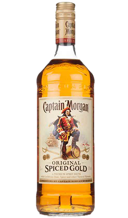 Captain Morgan Spiced Gold rum, 1L