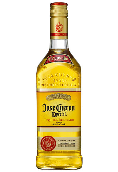 Jose Cuervo Especial Gold or Silver Tequilla, 700ml