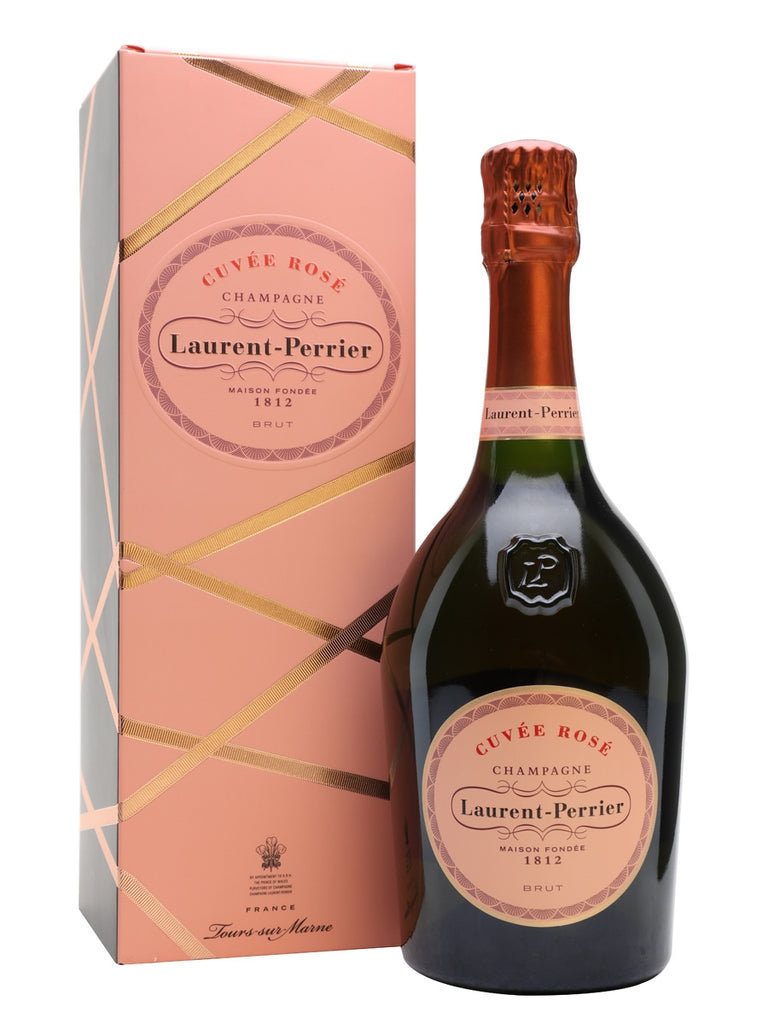 Laurent Perrier Cuvee Rose Brut Champagne Boxed
