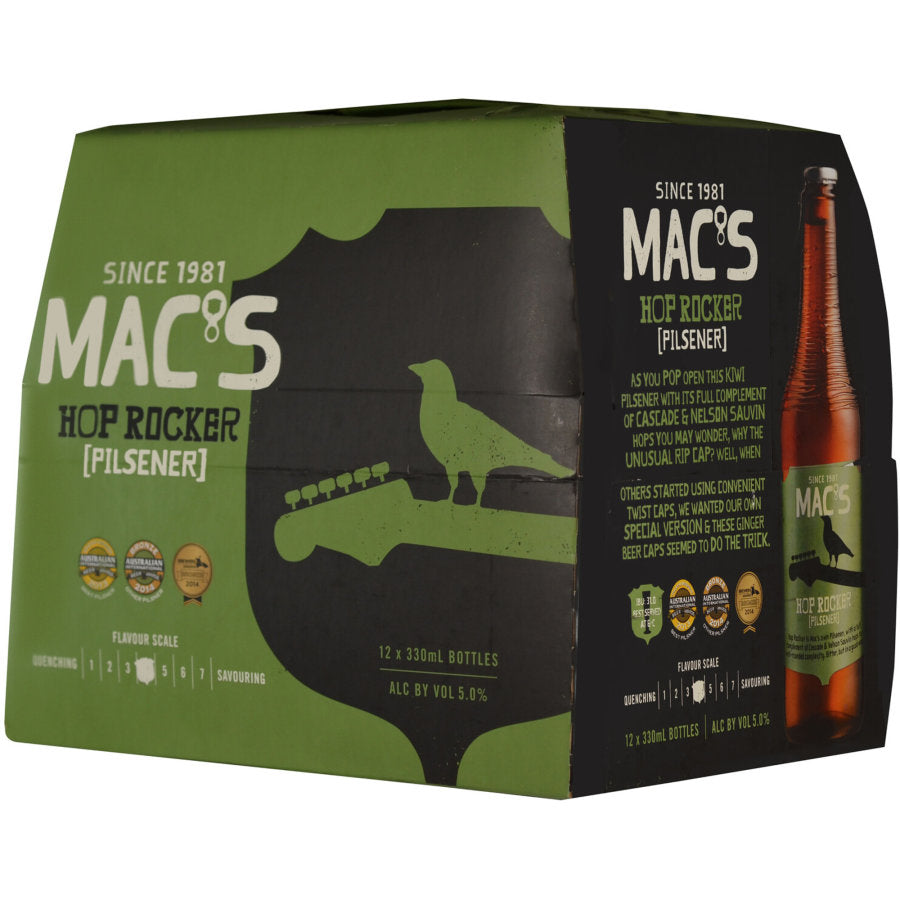 Macs Hoprocker Pilsner dozen 330ml bottles