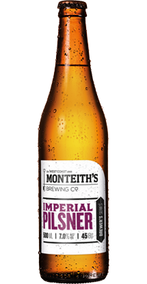 Monteith's Imperial Pilsner