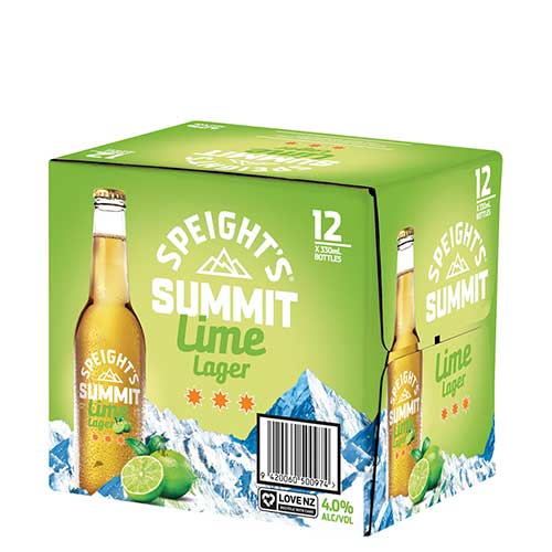 Speights Summit Lime lager dozen