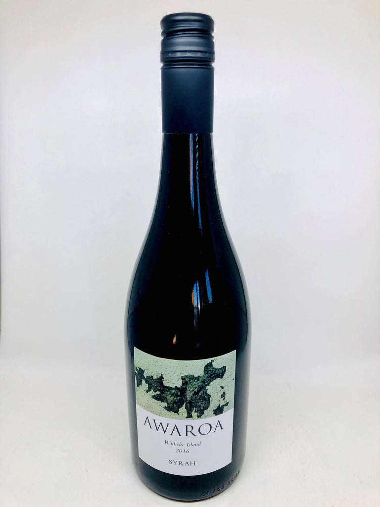 Awaroa Estate Syrah 2016