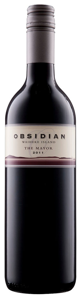 "Obsidian Reserve ""The Mayor"" 2018, Waiheke"