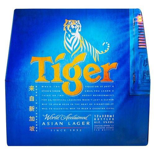 Tiger beer dozen