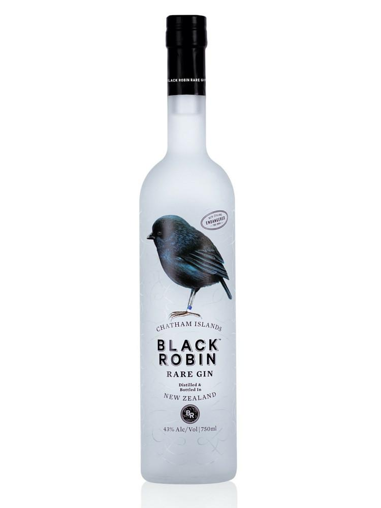 Black Robin Gin, 750ml