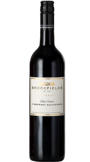 Brookfields Cabernet Sauvignon 2018, Hawkes Bay Ohiti Estate