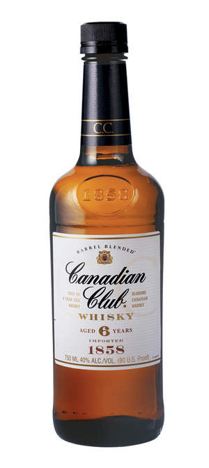 Canadian Club Whisky, 1 litre