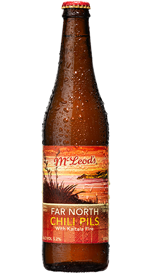McLeods Far North Chili Pilsner, 500ml bottle