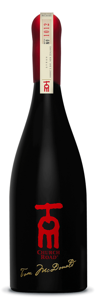 Church Road Tom Hawkes Bay Syrah 2015