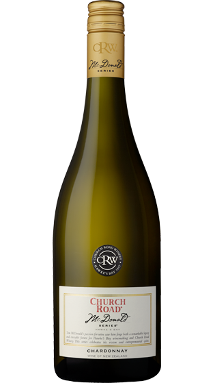 Church Rd McDonald Series Chardonnay 2018, Hawkes Bay
