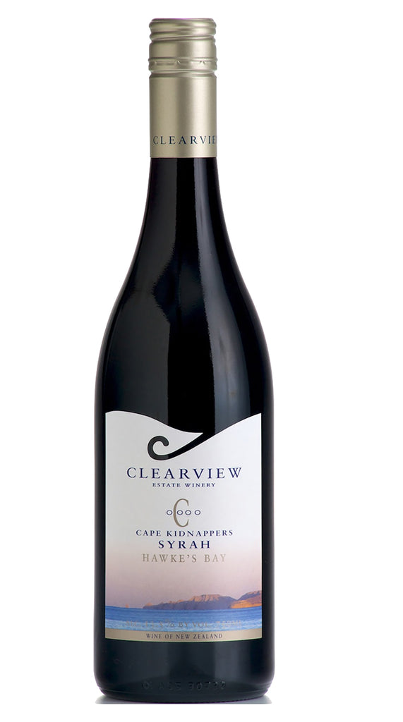 Clearview Estate Kidnappers Syrah 2018, Hawkes Bay