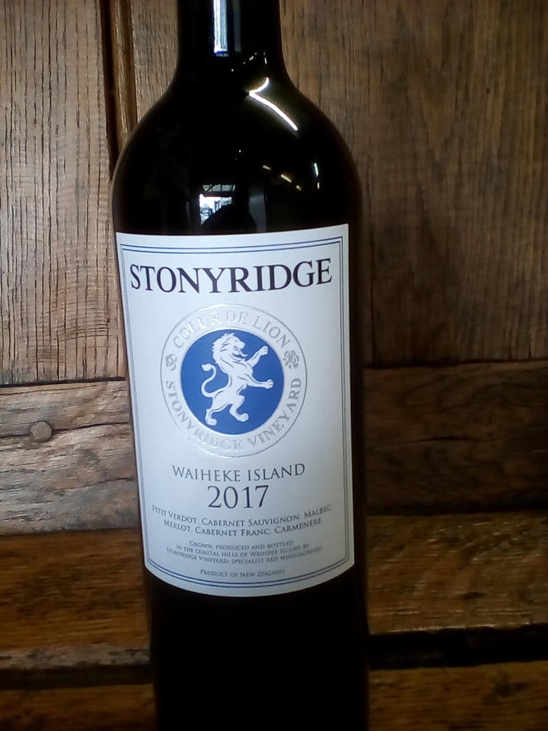 Stonyridge Coeur de Lion, 2017