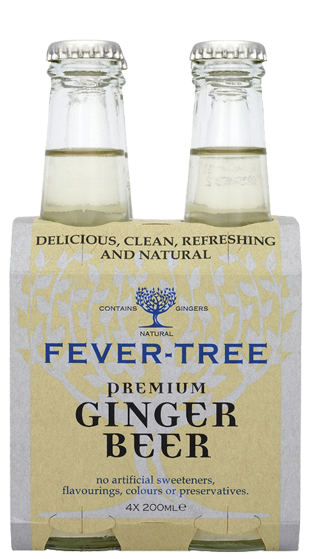 Fever-Tree Premium Ginger Ale, 4 pack 200ml
