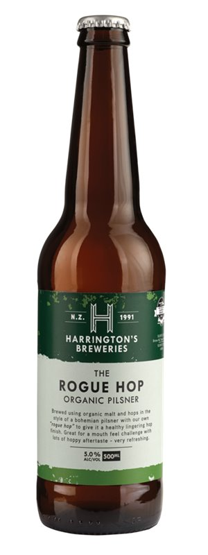 Harrington's Rogue Hop Pilsner