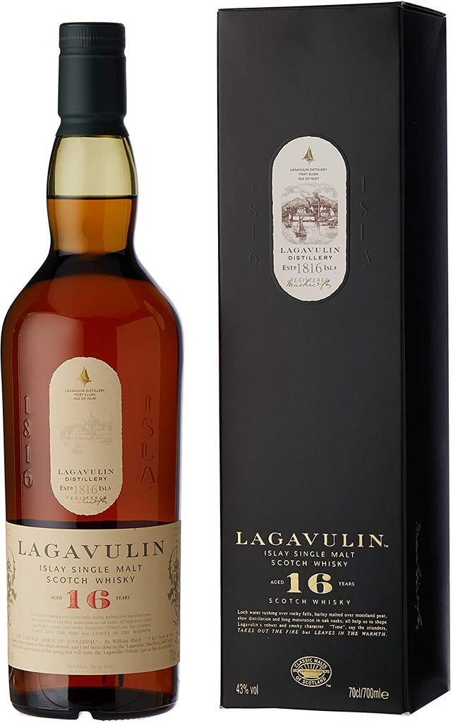 Lagavulin Islay Single Malt Scotch whisky 16 yo, 700ml