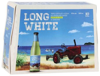 Long White 10 pack - Cranberry & Soda