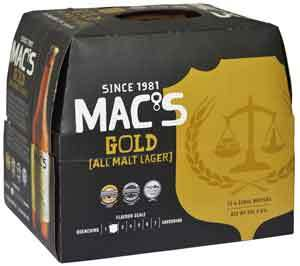 Macs Gold dozen 330ml bottles