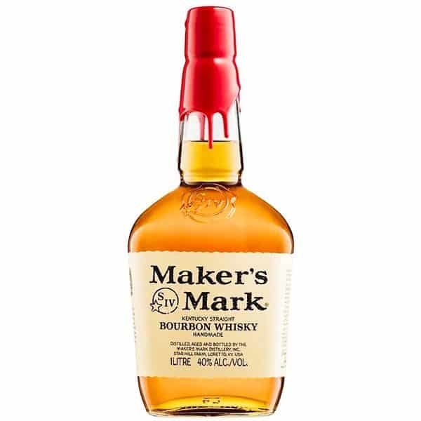 Makers Mark bourbon whisky, 1L