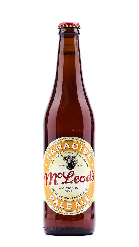 McLeods Paradise Pale Ale, 500ml bottle