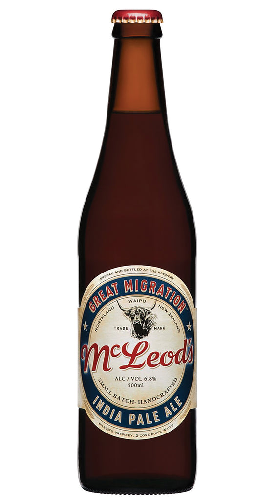 McLeods Great Migration IPA, 500ml bottle