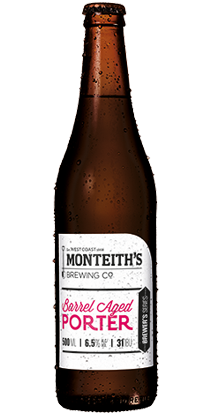 Monteith's Barrel Aged Porter