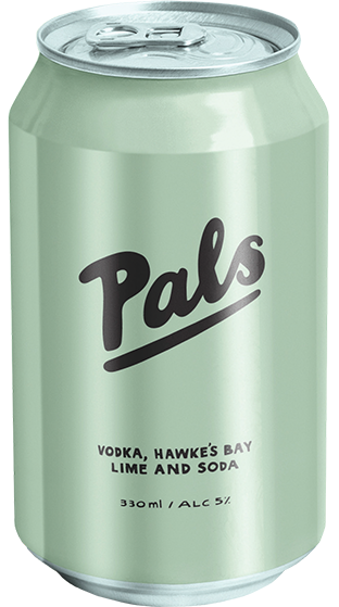 Pals 10 pack cans - gin, lemon, cucumber and soda