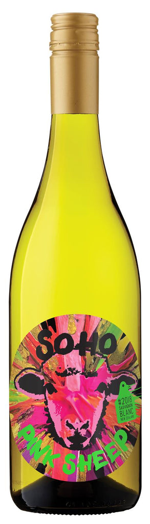 SOHO Pink Sheep Organic Sauvignon Blanc 2020, Marlborough