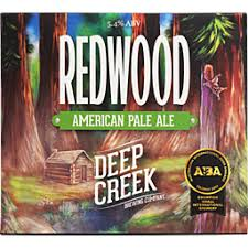 Deep Creek Redwood APA, 6 pack cans