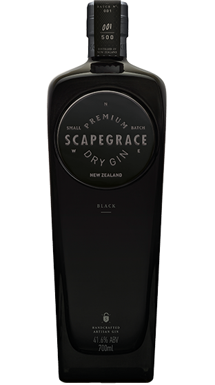 Scapegrace Black Gin, 700ml