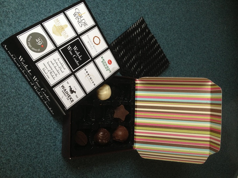 Waiheke Wine Centre Infused Chocolates, 9pc