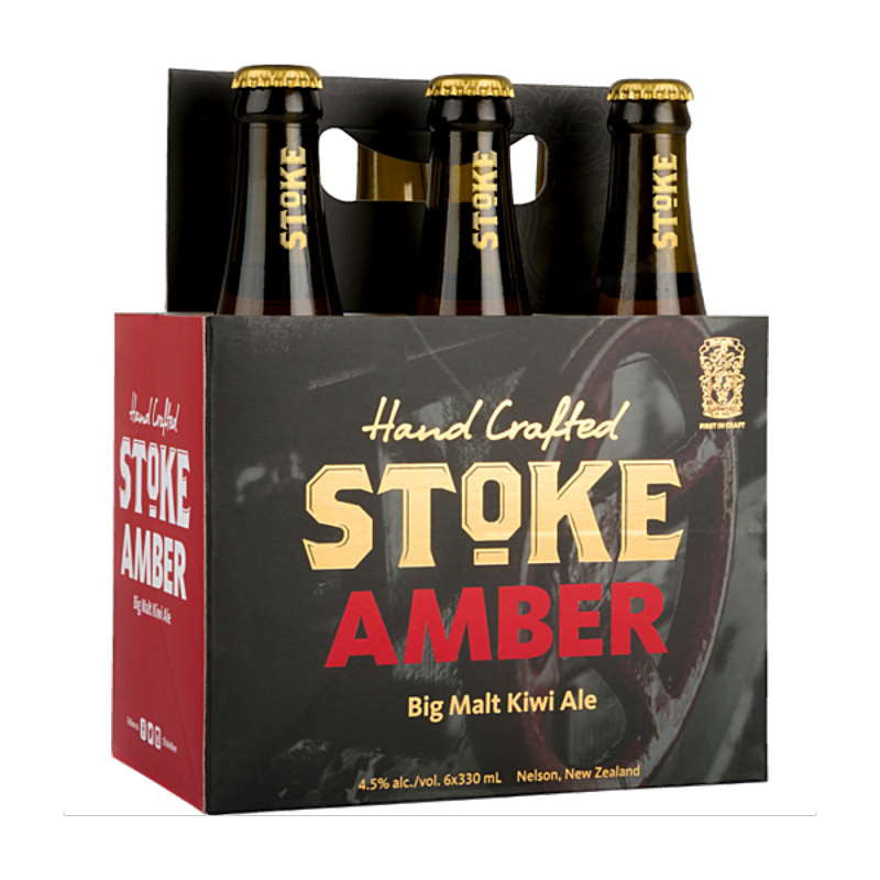 Stoke Amber 6 pack 330ml bottles
