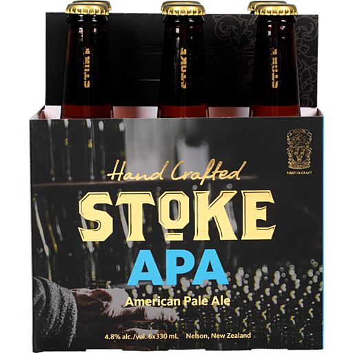 Stoke APA 6 pack 330ml bottles
