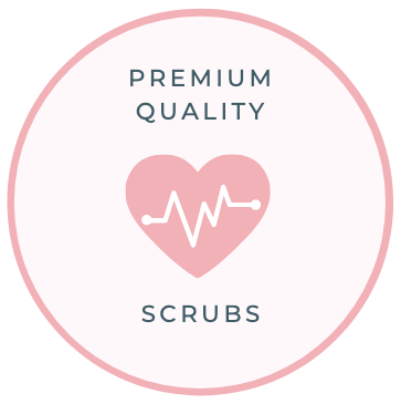 Premium Quality Womens Scrubs by Happily Scrubbed