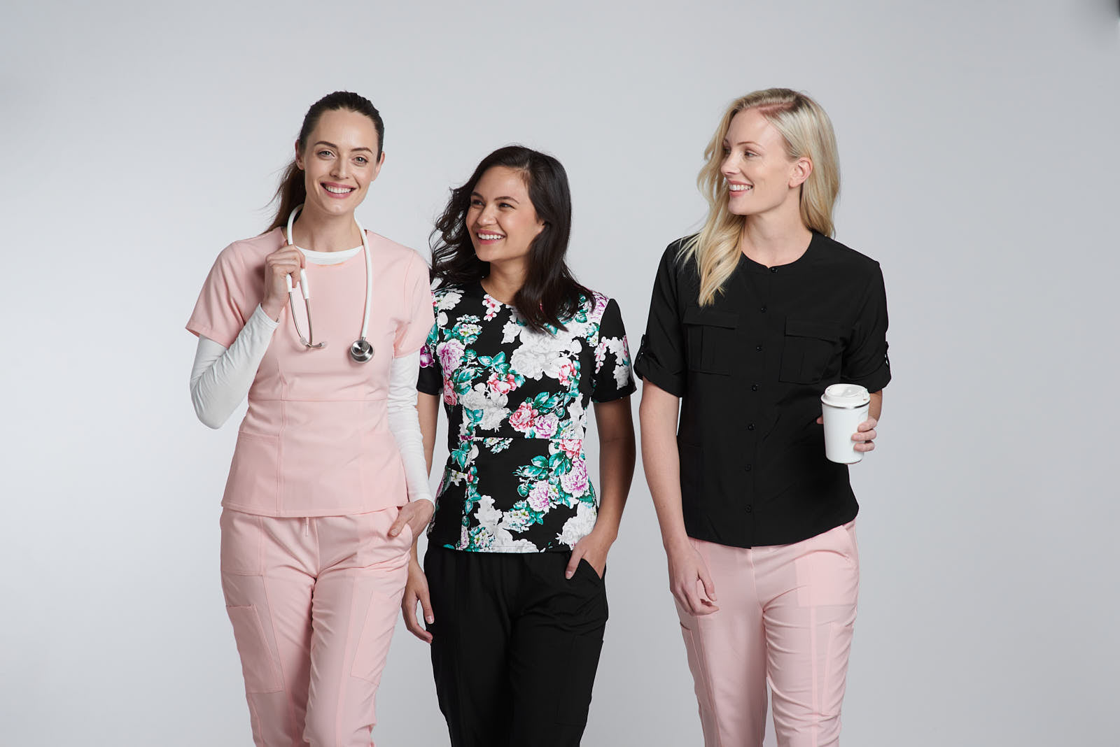 Womens Scrub Tops & Pants by Happily Scrubbed