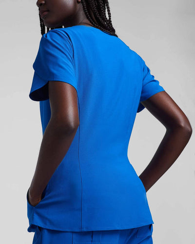 Blue Fashion Scrubs for Women