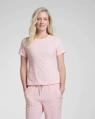 Fashion scrubs designed in Canada by HappilyScrubbed
